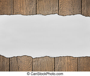 Wooden background and text space