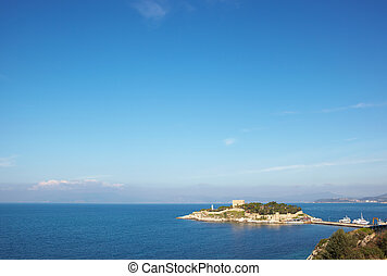 Pigeon Island Turkey - Pigeon Island Fortress, also known as...