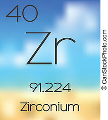 Periodic Table of the Elements Zirconium - The Periodic...