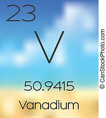Periodic Table of the Elements Vanadium - The Periodic Table...