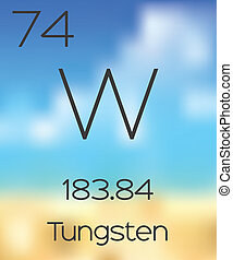 Periodic Table of the Elements Tungsten - The Periodic Table...