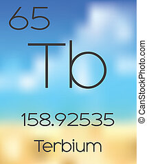 Periodic Table of the Elements Terbium - The Periodic Table...