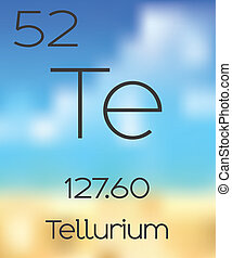 Periodic Table of the Elements Tellerium - The Periodic...