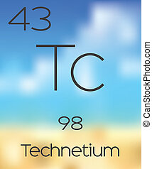 Periodic Table of the Elements Technetium - The Periodic...
