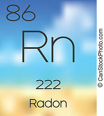 Periodic Table of the Elements Radon - The Periodic Table of...
