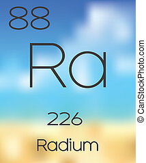 Periodic Table of the Elements Radium - The Periodic Table...