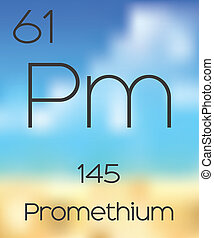 Periodic Table of the Elements Promethium - The Periodic...