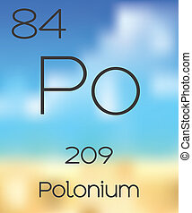 Periodic Table of the Elements Polonium - The Periodic Table...