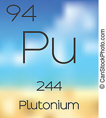 Periodic Table of the Elements Plutonium - The Periodic...