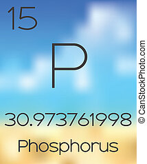 Periodic Table of the Elements Phosphorus - The Periodic...
