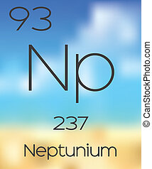 Periodic Table of the Elements Neptunium - The Periodic...