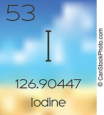 Periodic Table of the Elements Iodine - The Periodic Table...