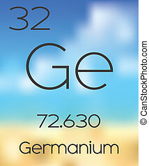 Periodic Table of the Elements Germanium - The Periodic...