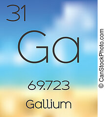 Periodic Table of the Elements Gallium - The Periodic Table...