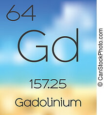 Periodic Table of the Elements Gadolinium - The Periodic...