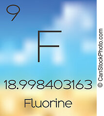 Periodic Table of the Elements Flourine - The Periodic Table...