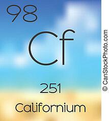 Periodic Table of the Elements Californium - The Periodic...