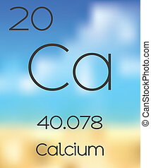 Periodic Table of the Elements Calcium