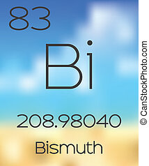 Periodic Table of the Elements Bismuth - The Periodic Table...