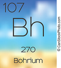 Periodic Table of the Elements Bohrium - The Periodic Table...