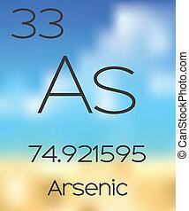 Periodic Table of the Elements Arsenic - The Periodic Table...