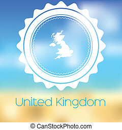 Map of the country of United Kingdom - A Map of the country...
