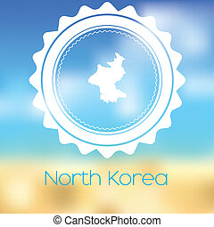 Map of the country of North Korea - A Map of the country of...