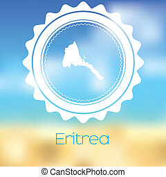 Map of the country of Eritrea - A Map of the country of...