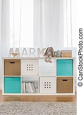 Kids cube storage - Photo of new design functional kids cube...