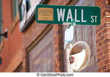 Wall street - Deadwood, South Dacota - National historical...