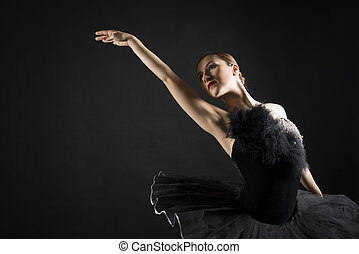 Beautiful ballet dancer - Beautiful ballerina in the role of...