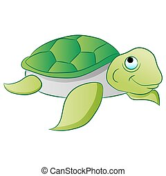 Sea Turtle - An image of a sea turtle.