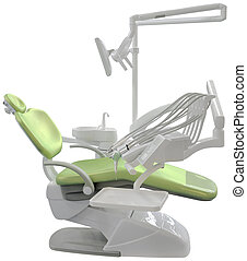 Dentist Chair Cutout