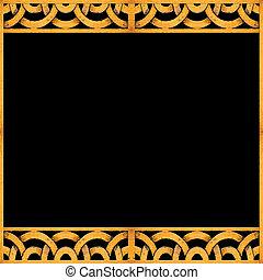 arabeske, Muster, Rahmen, hintergrund,