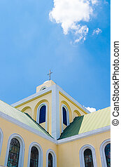 philippine church tower - Our lady of penafrancia church in...