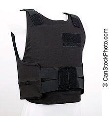 Bulletproof vest, body armor covers, Camouflage, black