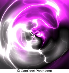 Cosmic energy glowing abstract - Cosmic energy glowing light...