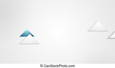 Abstract tech corporate blue grey video animation - Abstract...