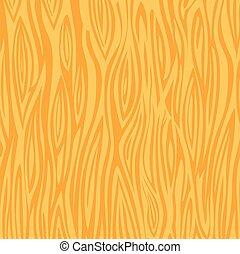 Wood texture background - light yellow. Vector stock.