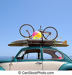 Summer holiday road trip vacation, Travel concept with copy...