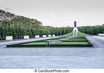 Soviet War Memorial in Treptower Park, Berlin, Germany