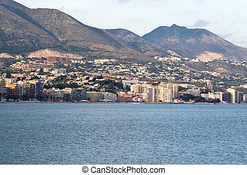 Fuengirola - view of Fuengirola, Spain