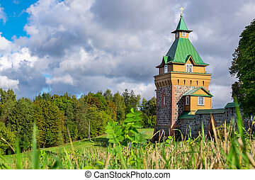 Kuremae Dormition Convent Estonia - Outside of Puhtitsa...