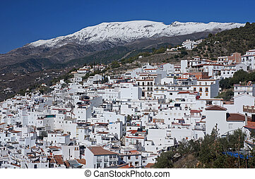 Competa in the winter - Winter comes to Andalucia in Spain:...