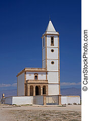 Cabo de Gata church - Almeria in Spain: the recently...