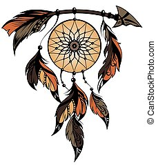 Dream catcher - Vector illustration of Dream catcher