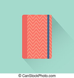 office supply - Isolated office supply on a blue background