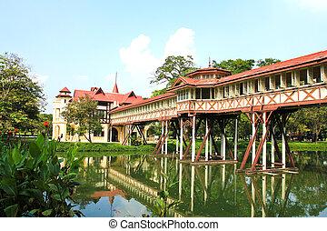 Sanam Chan Palace,King Rama 6, Nakhon pathom, Thailand