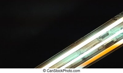 Toggle fluorescent neon light tubes - Toggle fluorescent...