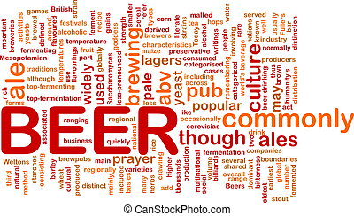 Beer beverage background concept - Background concept...